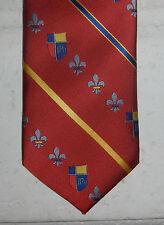 Nwt Mills School Uniform John Paul Ii High School Plano Teen T48 Necktie Tie