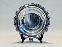 Magnificent Vintage Victorian Style Wallace English Silver Plated Bowl