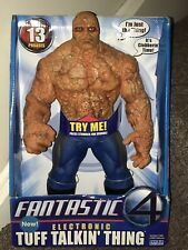 the thing fantastic four Tuff Talking Action Figure * Spanish Import *