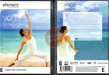 YOGA FOR BEGINNERS Element Mind & Body Experience DVD (Region 4 Australia)
