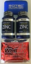 15,86€/100g)Scitec Nutrition ZINC 200 Tabletten j.25mgGesamt 80g+Bonus Pillenbox