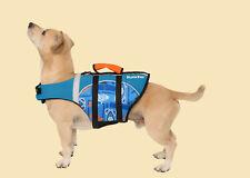 Playapup Dog Life Jacket Vest Flotation Device PFD Camping Puppy Lifejacket Pet