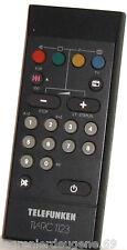 Télécommande/Remote TELEFUNKEN TV-FB1120/TV-RC1123 => Téléviseur CRT TV