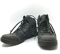 Mens Shoes For Crews Work Size 7 Black Oil Slip Resistant Non Slip