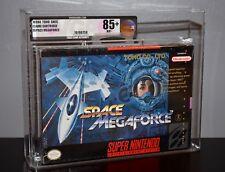 SPACE MEGAFORCE - VGA 85+ SUPER NINTENDO SNES ~ SEALED NEW RARE