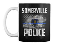 Somerville Police Gift Coffee Mug