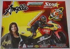 2016 Angelle Sampey Star Racing Buell Xb12R Pro Stock Motorcycle Nhra postcard