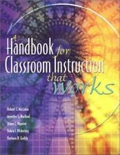 A Handbook for Classroom Instruction That Works, (ASCD)