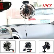 12V Portable Car Fan Vehicle Auto Plastic Cooling Cooler W/ Cigarette Lighter