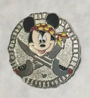 Disney Pin Trading Hidden Mickey and Friends Pin Pirate Mickey -New With No Card