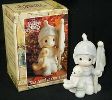 Precious Moments Figurine This Land Is Our Land 527777  A Limited Edition w/box
