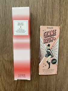 BENEFIT Gimme Brow+ Volumizing Fiber Gel (Shade 3) & OH MY BROW! Highlighter