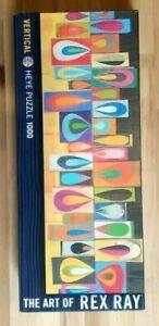 Rallenta Heye REX RAY Vertical Jigsaw Puzzle Abstract Art - Nr 29506 Pre-Loved