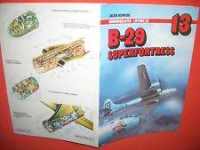 Aircraft Monograph monografia intitolata 13, b-29 Superfortress di AJ Press