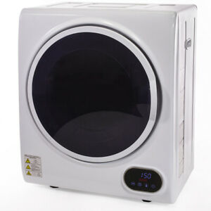 Compact Digital Automatic Electric Clothes Dryer Machine Laundry Dry w/ Timer