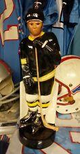 RARE Hockey 1971 BOSTON BRUINS Paul Lux 15 Inch Liquor Decanter Vintage NHL