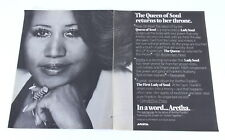 Aretha Franklin Lot of 12 Billboard Magazine Promotional Ads 1970s - 1980s