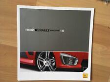 RENAULT TWINGO SPORT 133 . BROCHURE 2008