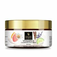 Good Vibes Vitamin E Nourishing Face Cream Anti Ageing Skin and Dark Spots 50 g