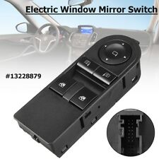 Front Electric Window Mirror Switch For Vauxhall Astra H Zafira B #13228879