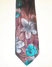 Krawatte Kravatte Binder  VAN DEN BOSCH -  100% Seide
