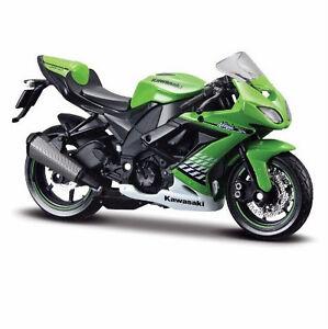 MAISTO 1:18 Kawasaki Ninja ZX 10R MOTORCYCLE BIKE DIECAST MODEL TOY NEW IN BOX