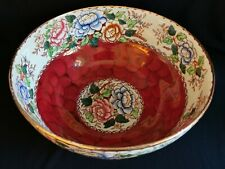 More details for maling peony rose bowl