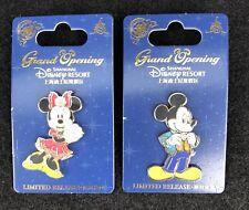 Disney Shanghai Opening Mickey Minnie Pins  Limited