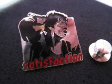 Rare Enamel pin Badge I can't get no Satisfaction Mick Jagger The Rolling Stones