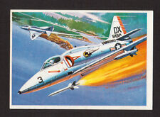 Douglas Skyhawk Airplane US Army Air Force 1980 Spanish Collector Card #98
