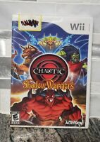 Chaotic: Shadow Warriors Nintendo Wii New & SEALED!