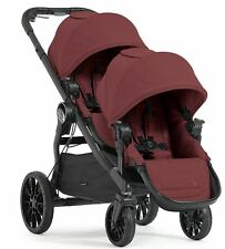 Baby Jogger City Select Lux Twin Tandem Double Stroller w Second Seat 2017 Port