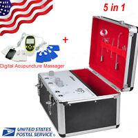 5 in1 High Frequency Galvanic Vacuum Spray Facial Machine Spa Salon Equipment US