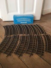 Playmobil Eisenbahn gebogene Gleise 4354 mit Original-Karton 12 Stück