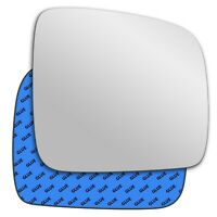 Right wing adhesive mirror glass for VW Transporter T5 Van 2003-2009 49RS