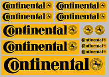CONTINENTAL decal set 12 quality printed and laminated stickers free delivery