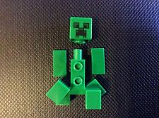 New Lego Minecraft Creeper Minifigure from set 21125 Unassembled