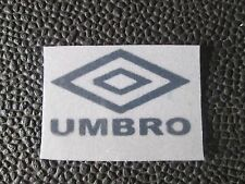 Black Umbro Logo Retro Capital Letters Football Nameset 4 shirt Man Utd etc