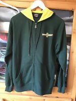Independent Truck Company M Green/yellow Zip Through Hoodie