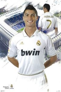 New Cristiano Ronaldo Hot Football Super Stars 12 24x24 27x27 Fabric Poster E787