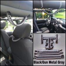 Jeep Grab Handles Roll-bar mount set JK/JKU 2/4-door:custom-you pick your colors