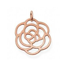 Thomas Sabo Sterling Silver RG Plated Flower Pendant RRP $119