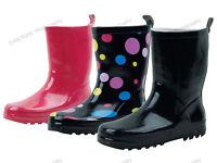 Children's Rain Boots Rubber Kids Boys Girls Colors Snow Slip On, Sizes: 11-4