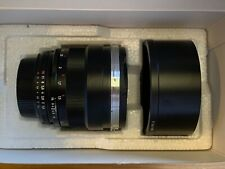 ZEISS Planar T 85mm f/1.4 ZF MF Lens For Nikon