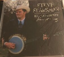 STEVE SPARKMAN  Harlan County Five String CD Orig Copper Creek Rel AUTOGRAPHED