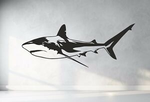 Great White Shark, Jaws, vinyl wall sticker art decal quote. Any colour and size