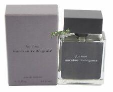 Narciso Rodriguez For Him 0.33oz/10ml Mini Edt Spray New In Box