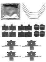 Mintex Pastilla de freno Delantero Accesorios Kit montaje mba1791-5 años