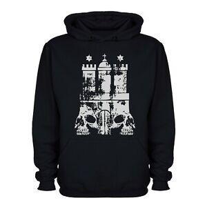 Hoodie, Hamburg, St.Pauli, Rockwear, Kapuzenpullover, Kapuzi, Totenkopf