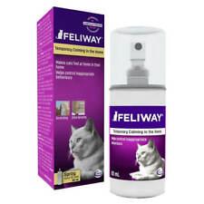 60ml Feliway Spray Pheromone Reduce Cat Stress Clam Urine Spraying Scratching
